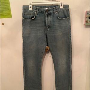 Saint Laurent Paris Straight Legs D03 Jeans 32X33